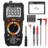 Tacklife DM01M Multímetro Digital profesional 6000 counts, 1000V TRUE RMS Rango Automático Voltímetro con NCV y...