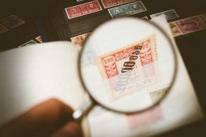 examinar historia de un sello