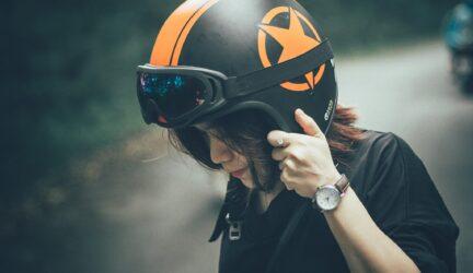 talla moto casco