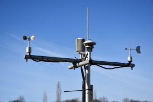 anemometro para medición de viento