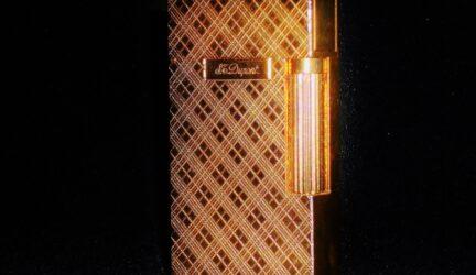 Dupont de oro de lujo