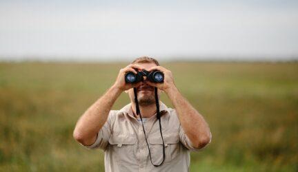 Visualizar con binoculares